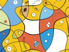 illustration, The Simpsons, Amit Patel