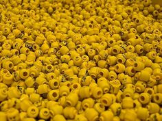 A Thousand Lego Heads | Flickr - Photo Sharing! #lego #head #play #fun #toy