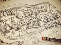 typeverything.com, by Steve Simpson #calligraphy #creative #design #type #drawing
