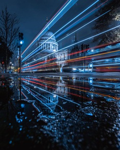 Moody Street Photos of London After Dark by Luke Holbrook