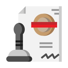 See more icon inspiration related to stamp, authorize, files and folders, business and finance, ui, authorization, password, programming, account, browser, article, user, login, document, file, social media, interface and security on Flaticon.