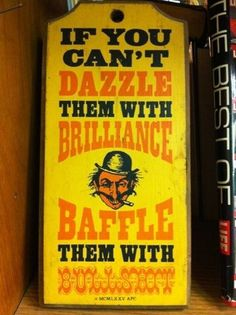 FFFFOUND! | jokes and glitter #bullshit #typography