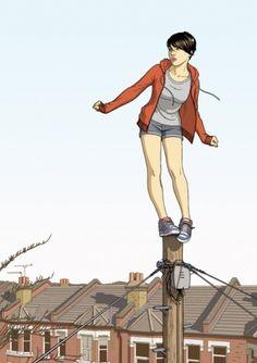chasingthefeelings #illustration #girl