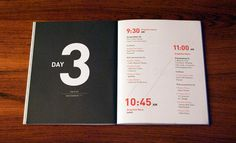 Presence #print #publication #brochure #editorial #event #schedule