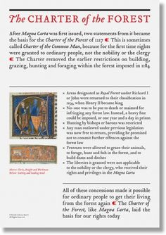 Dowling | Duncan – Charter of the Forest #document #display #typography