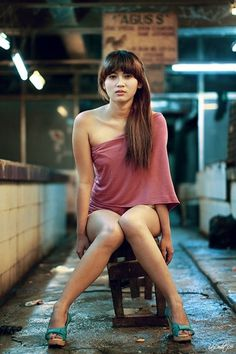 500px / Photo #dof #women #portrait #warehouse #grunge #female