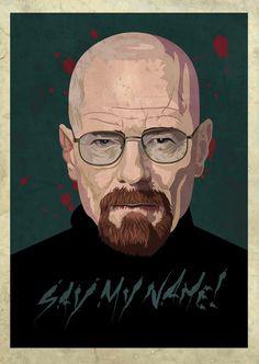 Heisenberg #walter #lettering #vector #white #breaking #heisenberg #bad