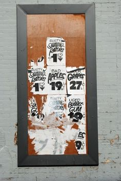 Hand-painted Faux Show Cards, Wheatpastes & Woody Guthrie the Sign-Painter – Fading Ad Blog