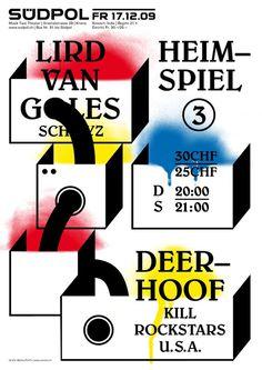 Südpol Plakate #design