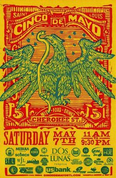 Cinco De Mayo Poster & Billboard - Firecracker Press - The St. Louis Egotist
