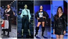 Day 1 Of The Famous Lakme Fashion Week Summer/Resort 2020 at Jio Garden, Mumbai (India)