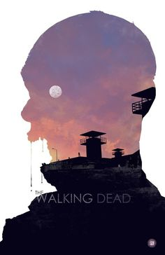 The Walking Dead by Duke Dastardly #movie #retro #poster