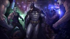Batman: Arkham City by PatrickBrown on deviantART #city #arkham #batman #brown #patrick