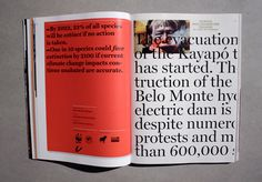type + layout #mag #print #layout #magazine #typography