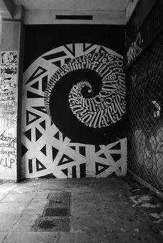 Urban Calligraphy20 – Fubiz™ #urban #calligraphy #lettering #graffiti #art #street