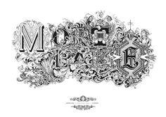 Typeverything.com MortlakebyGreg Coulton. #heraldry