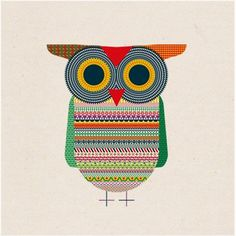 Michael Golan • Graphic Design Studio #illustration #owl
