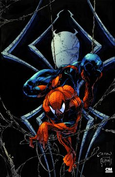 Creepy Spidey Colours by Creation Matrix on deviantART