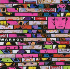 Deconstructed Bellagio Gallery Warhol Exhibit Brochure #composition #art