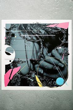 Prefab77 & REMI/ROUGH - THE DECONSTRUCTIVIST | Prefab77 #acrylic #prefab77 #screenprint #punked #up #spraypaint #collage