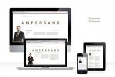 Ampersand Rechtsanwälte #website #branding