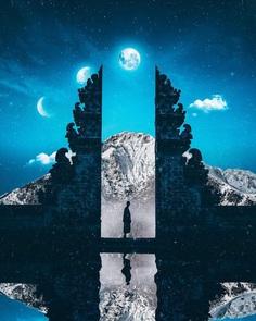 Dreamlike and Magical Photo Manipulations by Nick Asphodel