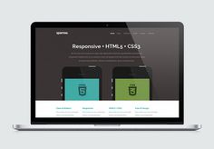 Sparrow : Free Modern Responsive HTML5 Template
