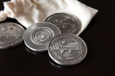 Behance Appreciation Coin 2012 on the Behance Network #coin #metal #behance #addons