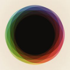 Fig. 039 Circles Art Print #geometry #of #color #shapes #composition #circles #imaginary #palces #maps