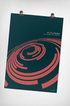 Futurism on the Behance Network #print #poster #futurism #simon c page