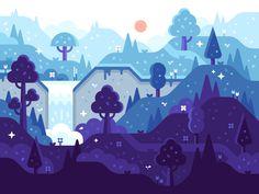 Magic Forest by Alex Pasquarella