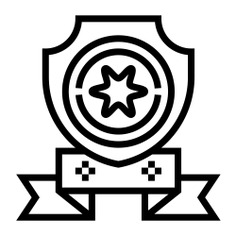 See more icon inspiration related to win, shield, prize, award, champion, sports and competition and winner on Flaticon.