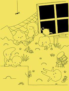 elves | Michael DeForge Blog #illustration