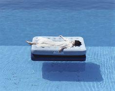 osamu yokonami #white #woman #water #girl #yokonami #osamu #pool #blue