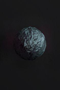 Mercury #planet #mercury #poly #low #3d