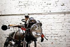 Honda cafe racer #cb550 #natrual #racer #cafe #honda