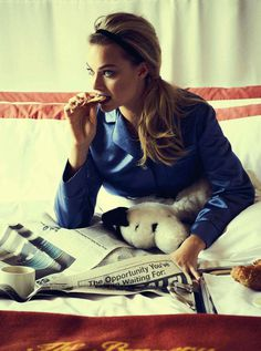 Margot Robbie by Matthew Brookes #photography