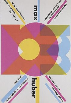 Max Huber, Cover: Max Huber Drawings, Paintings, 10 Graphic Works, 1936-1940