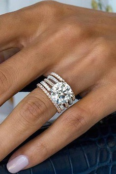 """With so many different styles of wedding rings available, it's difficult to define just what """"the perfect"""" means. To help narrow it down, we've curated a list of the 30 most popular engagement rings. Here we will point out all of the style options you will want to consider."""