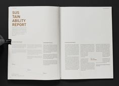 Annual report Craft Victoria on the Behance Network #spread #print #annual #report