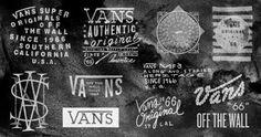 Typeverything.com - Vans logos by Owen Everitt. - Typeverything