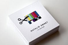 Natalie Ebnet Logo & Business Cards « Mattson Creative #logo #card #identity #business