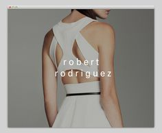 Robert Rodriguez #fashion #layout #website #web