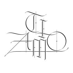 TI AMO Sergi Delgado #calligraphy #lettering #delgado #gothic #poster #barcelona #sergi #love #typography