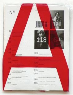 FFFFOUND! | Every reform movement has a lunatic fringe #print #typography #fashion #magazine #belgium