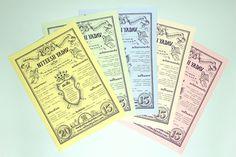Vintage flyer inspired resume. #resume # lettering #typography