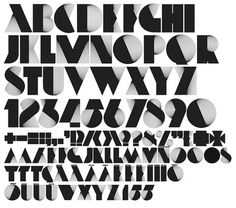 Neo Deco on the Behance Network #graphic design #typography #typeface #alex trochut