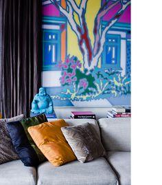 NatalieBloom LoungeroomPainting4 #design #interiors #home