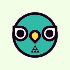 OWL by Sergi Delgado #logotype #owl #branding #geometric #bird #sintetic #illustration #minimal #logo #animal