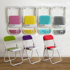 Pantone Chairs by Seletti #tech #flow #gadget #gift #ideas #cool